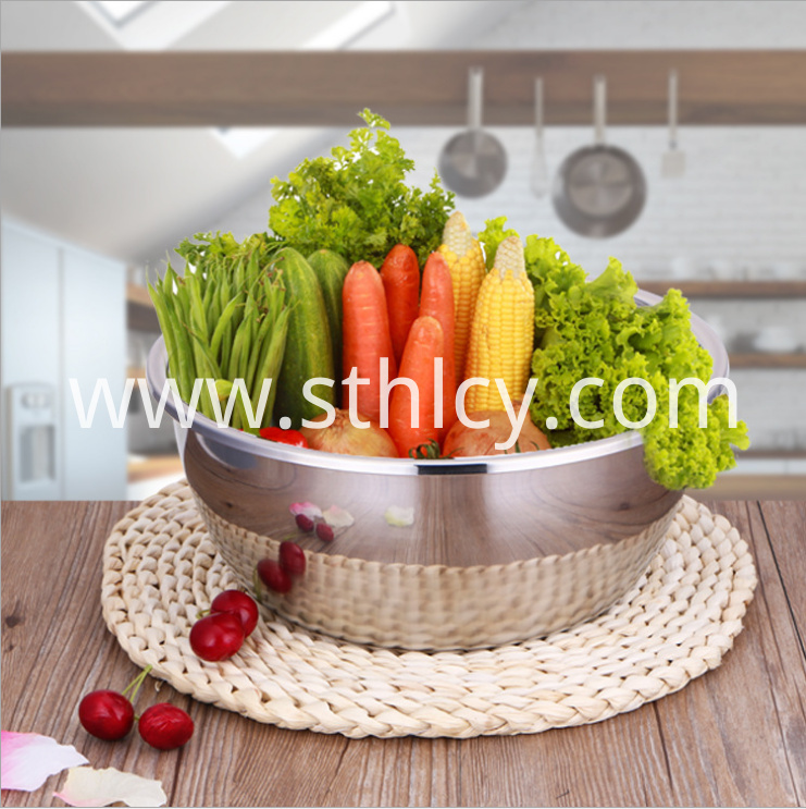 Stainless Steel Soup Basin2
