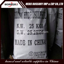 Sodium Hydrosulfide 70% for leather treatment