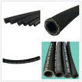Hydraulic rubber stainless steel flexible hose pipe press