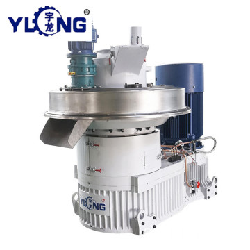 YULONG XGJ560 1.5-2TON / H cotton pellet membuat mesin