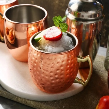 500ml Beer Drinking Copper Moscow Mule Stainless Mug