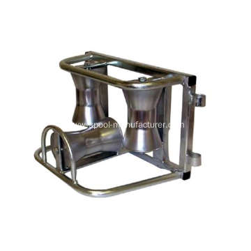 Zinc Plated Triple Corner Cable Roller