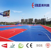 New Delivery for PP Interlocking Court Tiles Enlio ITF Approved outdoor Tennis court interlocking tiles supply to India Factories