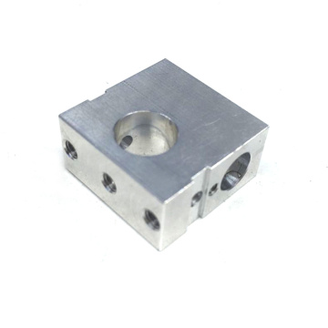 Machining Block of Aluminum Parts