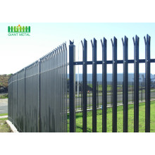 Fast Delivery for High Quality Palisade steel fence Steel Security Palisade Fence Mesh supply to Zambia Manufacturer