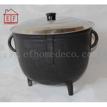 Cast Iron Jambalaya Pot 4 Gallon