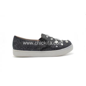 Girl's Casual Shoes Slip-On Sneakers