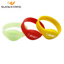 Fashion Amusement park ticket NFC silicone rfid bracelet