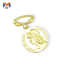 Hot sale Factory for Football Medal,Basketball Medal,Sports Medal Manufacturers and Suppliers in China The store of heavy metal trophy medals awards export to Comoros Suppliers