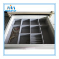 Cabinet drawer divider in PVC material