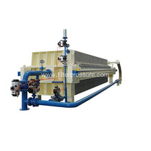 Sugar Industry Automatic Hydraulic Membrane Filter Press