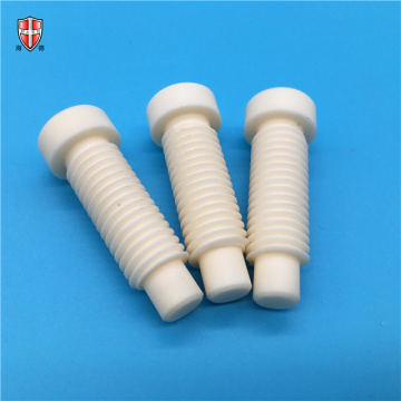 dielectric abrasive alumina ceramic nut bolt screws