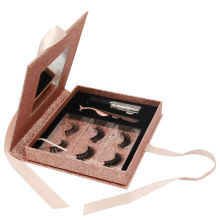 New Design Eyelash Printing Set Box with Mirror