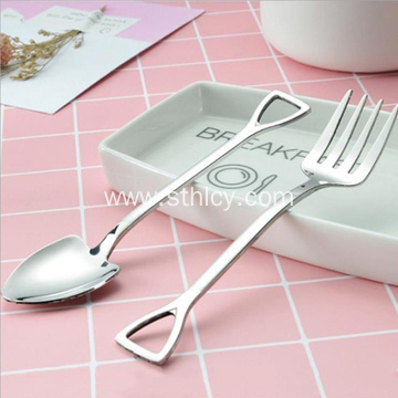Creative 304 Stainless Steel Cutlery Shovel Coffee Spoon
