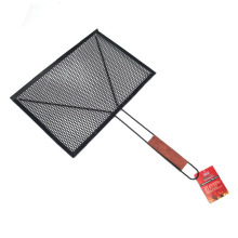 Non-stick barbecue wire mesh grill rack