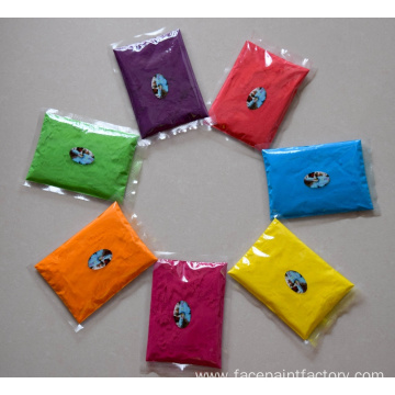 biodegradable rainbow holi powder packets for color run