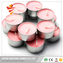 Pure wax candle plastic bag tealight candle