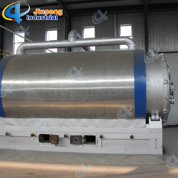 Waste Tire Pyrolysis Machine Rubber Pyrolysis Oil Plant