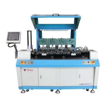 Four Stations Full Auto SIM Card Punching Machine