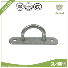 Steel Gate Staple On Elongated Eye Plate Hook