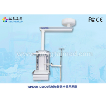 Hospital mechanical single arm medical pendant