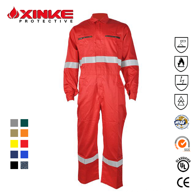 100% Cotton Frc Waterproof Coverall Workwear