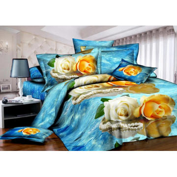 Big Flower Design Disperse Print Fabric For Home
