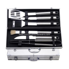 barbecue set with case