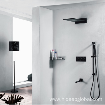 China Manufacturers for Shower Faucet,Bathroom Shower Faucet,Shower Mixer Faucet Manufacturer in China Wall Mounted Four Function Brass Shower Faucet supply to Indonesia Exporter