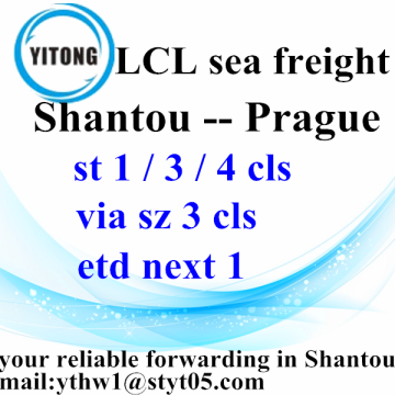 Global Ocean Freight Shipping Services to Prague