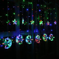 Moon Star Icicle LED Curtain String Light