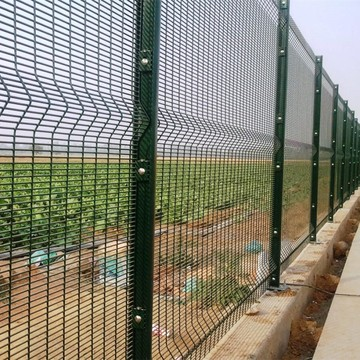 galvanized wire 358 security clearvu fence prison mesh