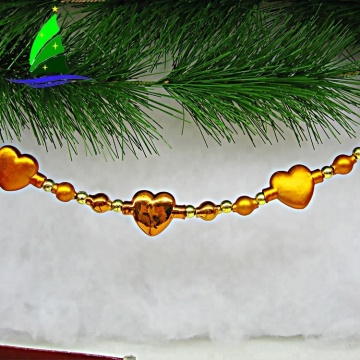 Handmade glass Garland Decorations for Birthday Wedding