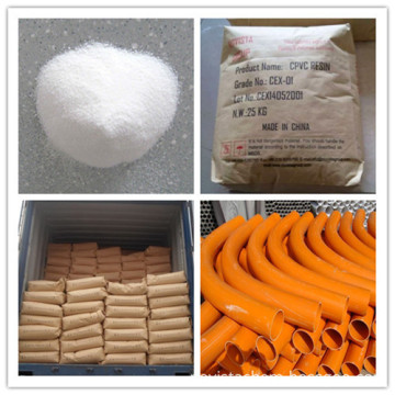 CPVC resin Chlorinated Polyvinyl Chloride for pipe