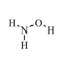 hydroxylammonium chloride reacts with iron 3