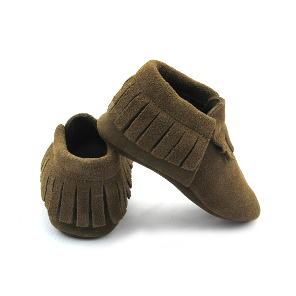 Suede Baby Moccasins Shoes