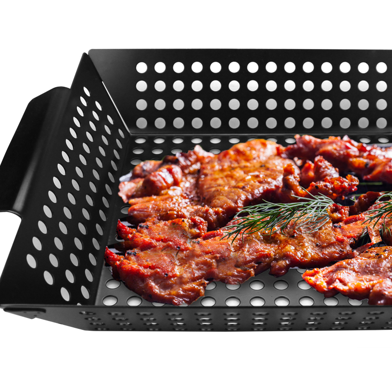 Dishwasher Safe Non-stick Grill Basket For Veggies