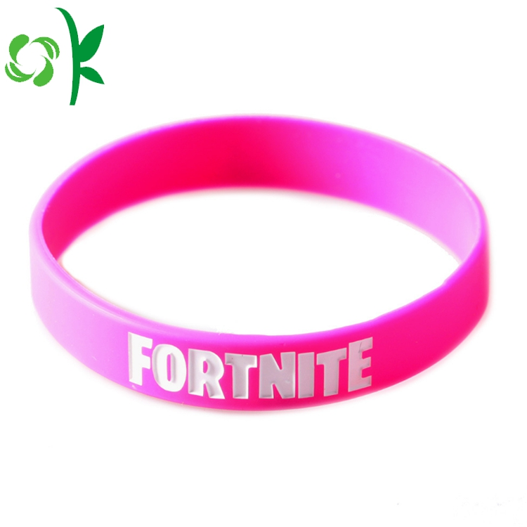 Sports Silicone Bracelet For Ladies