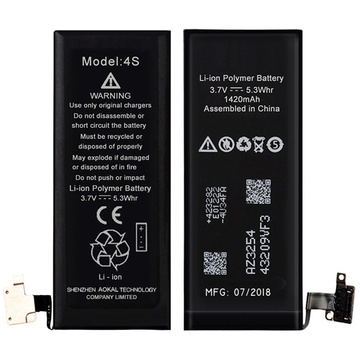 Brandnew 0 Cikli iPhone 4S Li-ion Battery