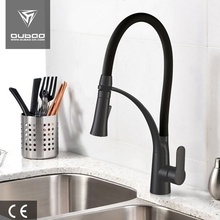 Silicon Hose One Lever One Hole Kitchen Faucet