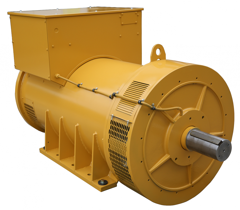 Yellow Color Marine Generator