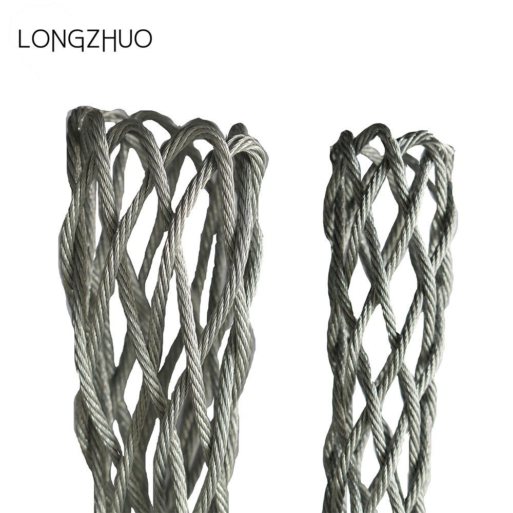 Stainless Steel Electric Cable Grip For Cable Pulling