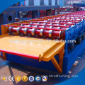Low cost H shape steel welding deck roll forming machine