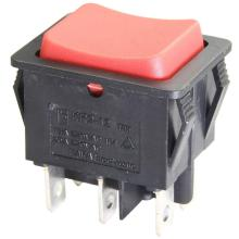 Customized for Middle Rocker Switches Rocker Switch Momentary ON OFF ON supply to Zambia Supplier