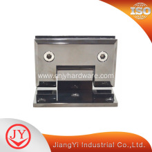 Mirror Black Self Closing Glass Door Hinge For Heavy Door