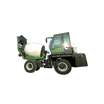 Mobile concrete mixer with pump in india