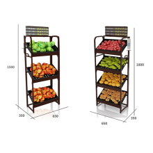 Hot Selling Fruit And Vegetable Display Rack