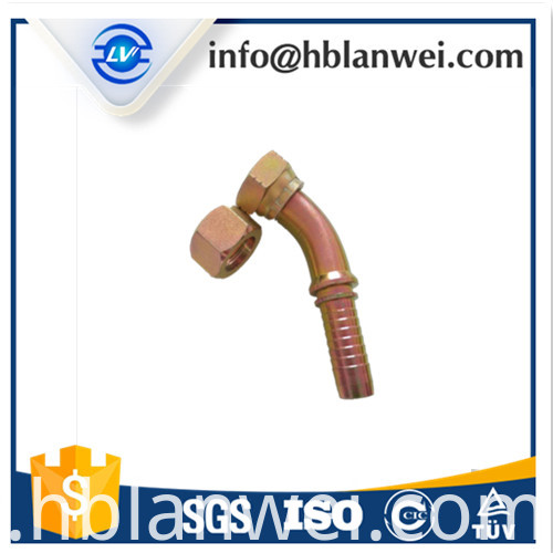 carbon steel hydraulic hose fitting