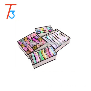 Set of 4 Drawer Dividers Closet Organizers