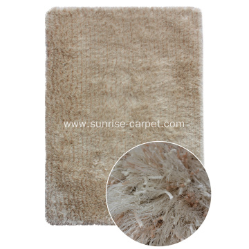 Thick and Viscose Shaggy Rug mix color